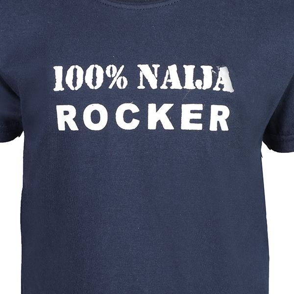 BOYS BLUE 100% NAIJA ROCK T-SHIRT - ruffntumblekids