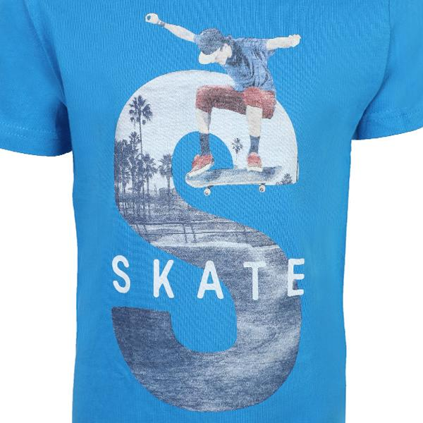 BOYS BLUE SHORT SLEEVE T-SHIRT