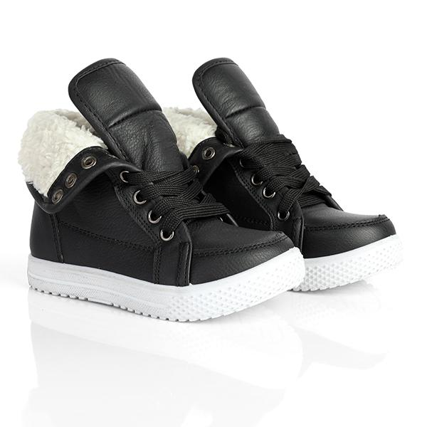 black high top sneakers-ruffntumble
