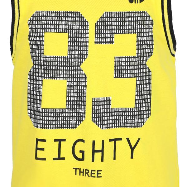 BOYS CANARY SLEEVELESS T-SHIRT - ruffntumblekids