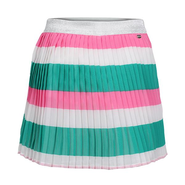 GIRLS MULTI COLOUR PLEATED SKIRT - ruffntumblekids
