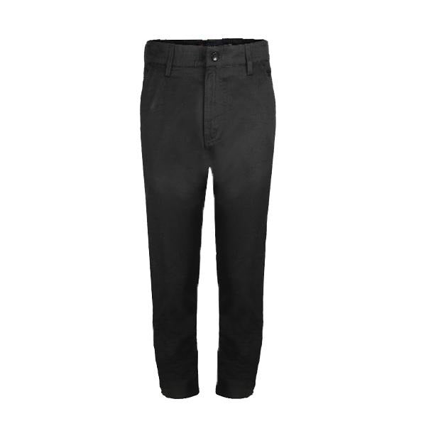 Black Straight Fit Trouser_Ruffntumble