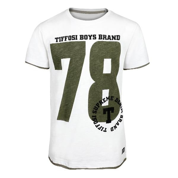 White '78' T-shirt_ruffntumble