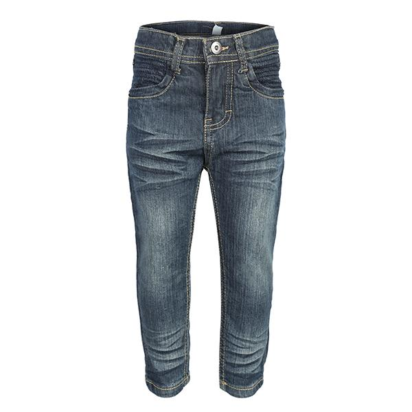 BOYS BLUE DENIM TROUSERS - ruffntumblekids