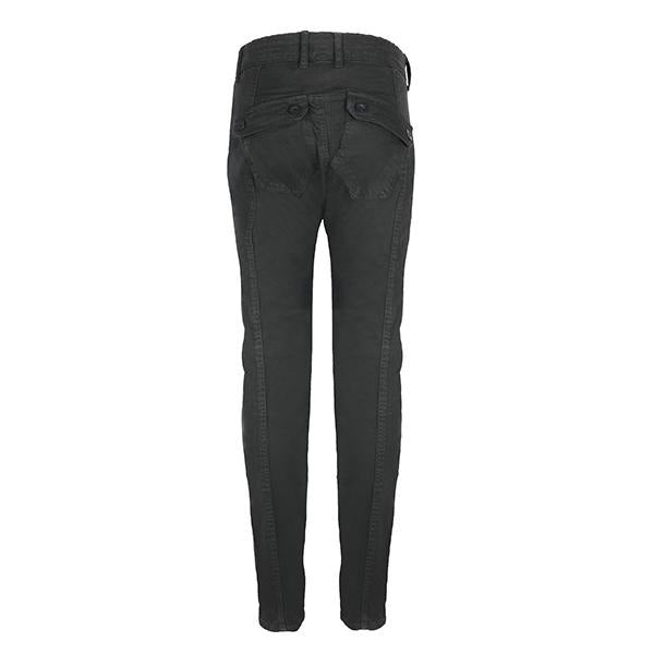 Black Slim Fit Trousers_Ruffntumble