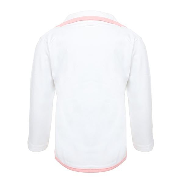BABY GIRL WHITE JACKET - ruffntumblekids
