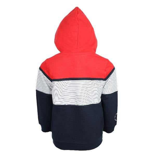 BOYS RED HOODIE PULLOVER