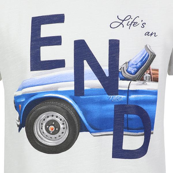 BOYS GREY SHORT SLEEVE ENDLESS T-SHIRT - ruffntumblekids