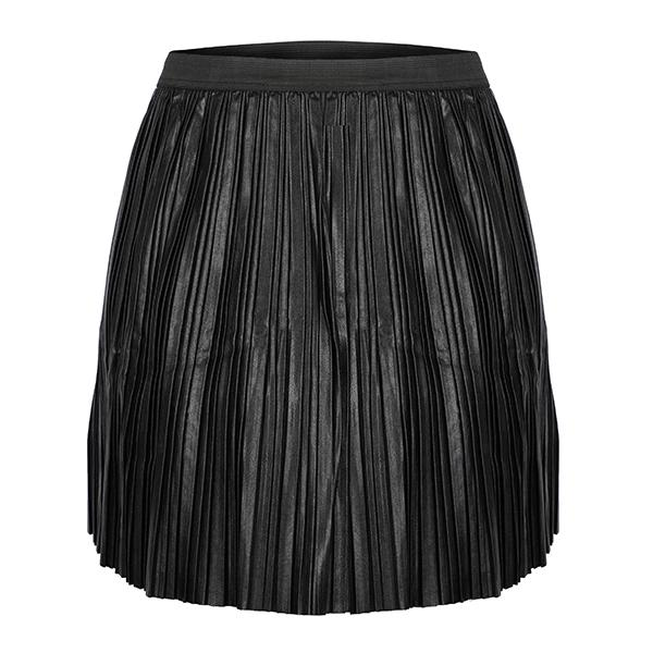 Black Leather Skirt_Ruffntumble