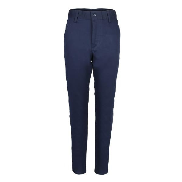 Navy Blue Straight Chino Trouser_ruffntumble