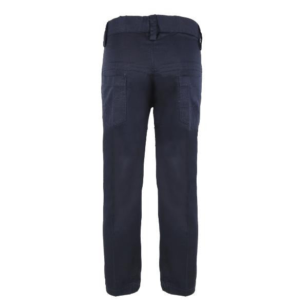 BOYS NAVY BLUE 5 POCKET CHINO TROUSER - ruffntumblekids