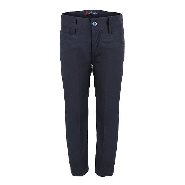 NAVY BLUE 5 POCKET CHINO TROUSER_ruffntumblekids