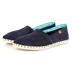 BOYS NAVY ESPADRILLE SLIP  ON - ruffntumblekids