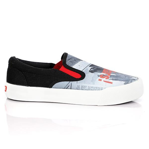 BOYS MULTI COLOR SLIP ON SNEAKERS - ruffntumblekids