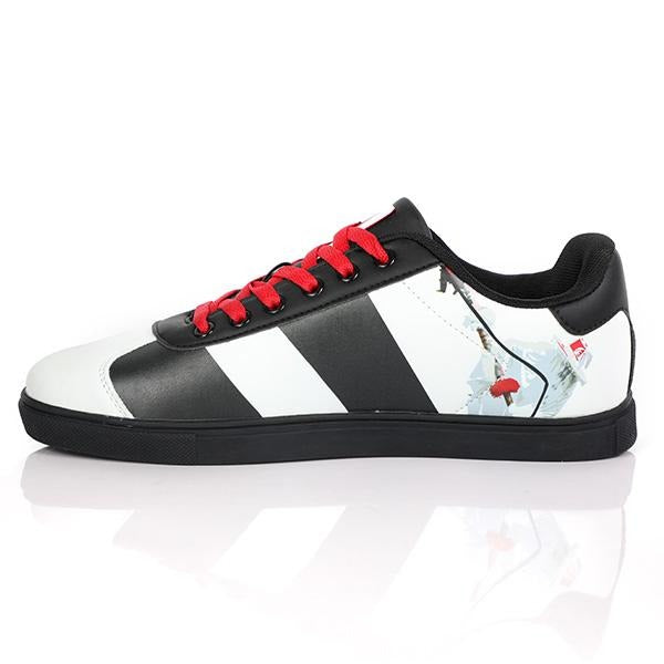 BOYS MULTI COLOUR LACE UP SNEAKERS - ruffntumblekids