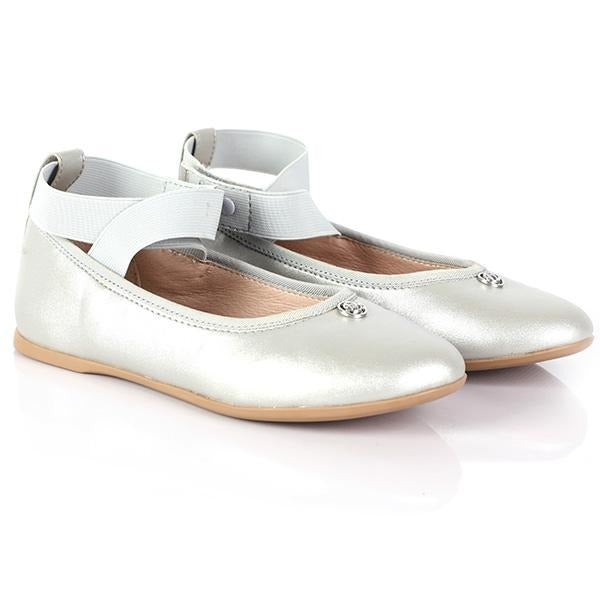 GIRLS SILVER BALLET MARY JANE - ruffntumblekids