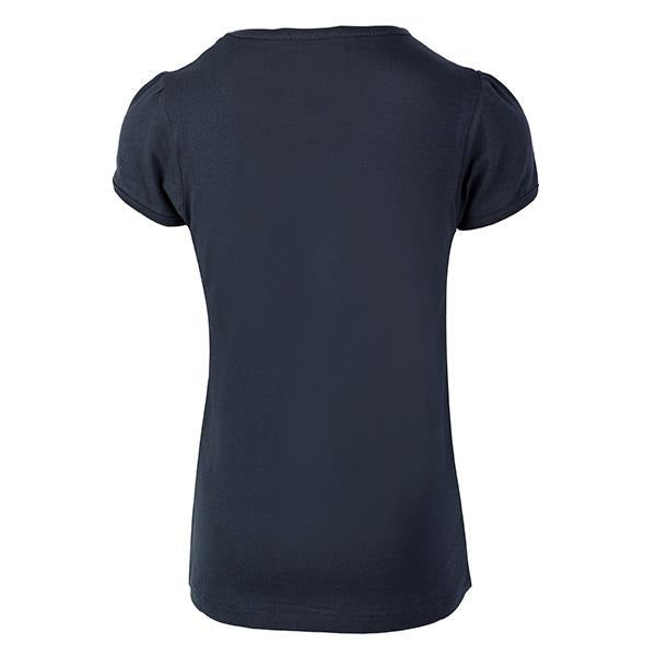 Navy Blue 'Bon Voyage' Top_Ruffntumble