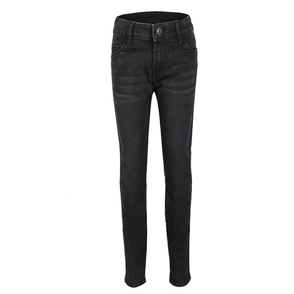 BOYS BLACK SLIM DENIM TROUSER