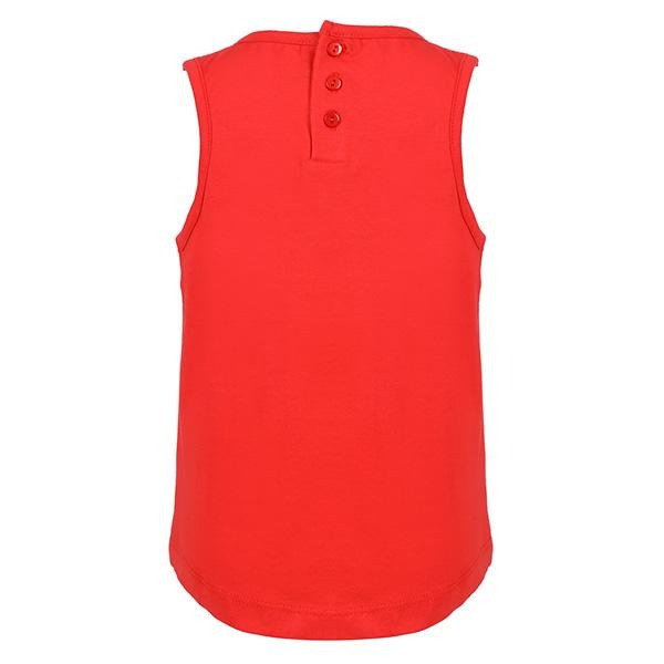 BABY GIRL RED MY BALLOON TANK TOP - ruffntumblekids