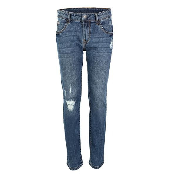 BOYS BLUE DENIM TROUSER