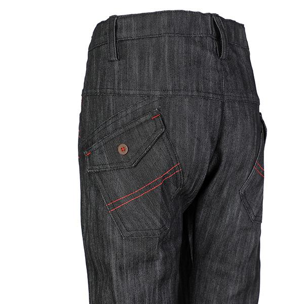 BOYS BLACK JEAN TROUSER
