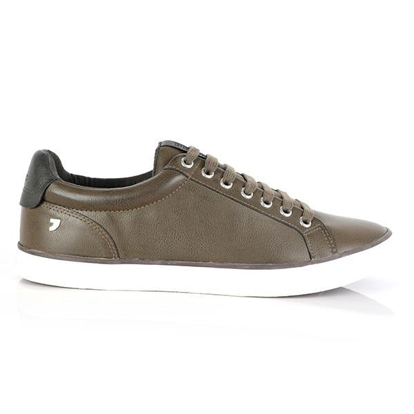 BOY BROWN CASUAL LOW TOP SNEAKERS - ruffntumblekids