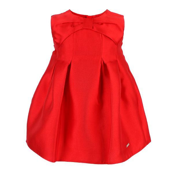 Red Taffeta Dress