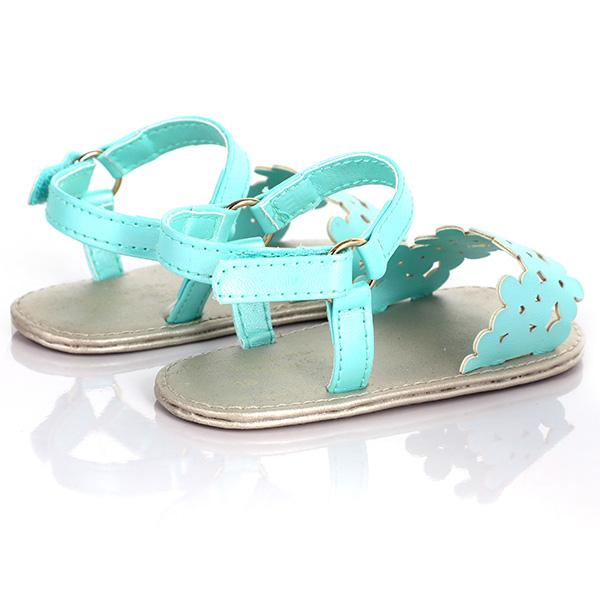 GIRLS TIFFANY DIE CUT SANDALS - ruffntumblekids