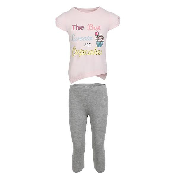 girls silver legging set_ruffntumblekids