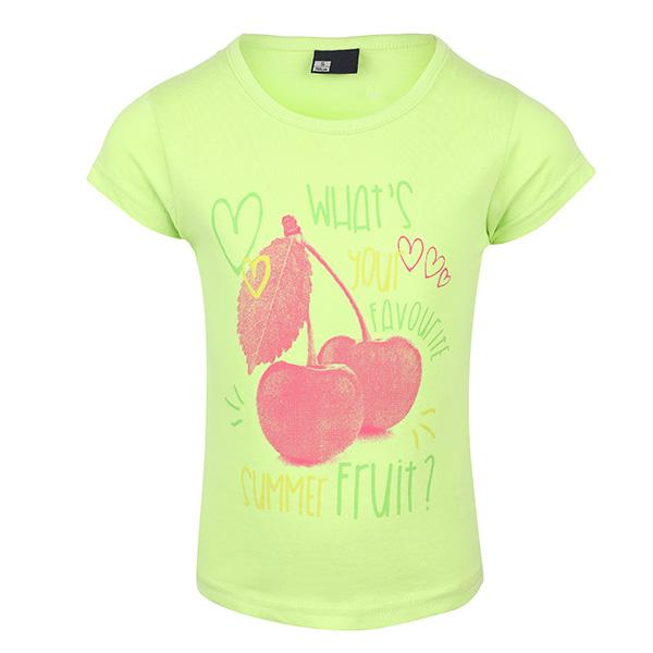 BABY GIRLS APPLE GREEN PRINT TOP - ruffntumblekids