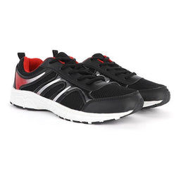 black/red sneakers-ruffntumble