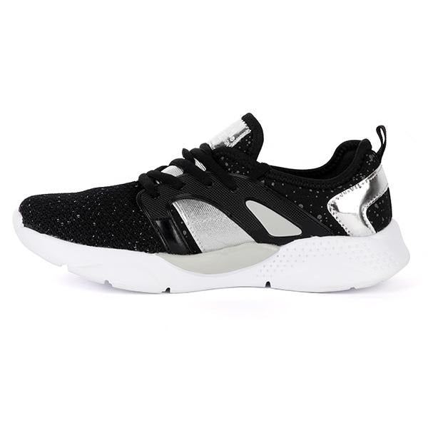 BIG GIRLS BLACK CASUAL SNEAKERS - ruffntumblekids