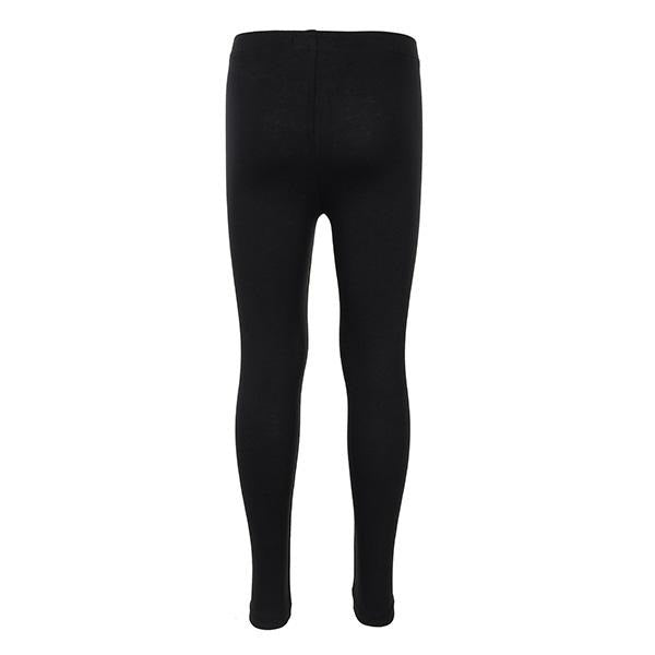 BLACK LONG BASIC LEGGINGS