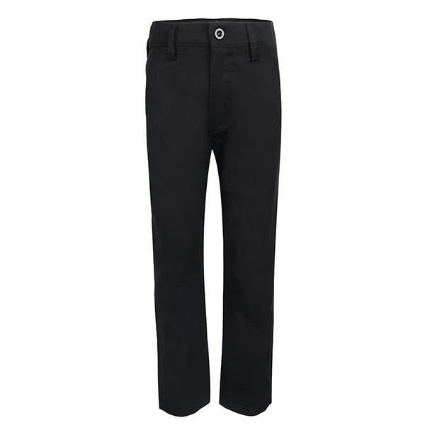 black fit trouser-ruffntumble