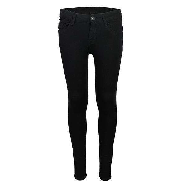 BIG GIRLS BLACK SKINNY DENIM - ruffntumblekids