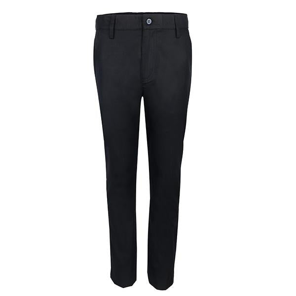 black straight fit trouser-ruffntumble