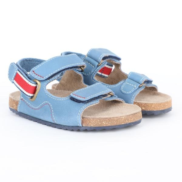 blue sandals-ruffntumble