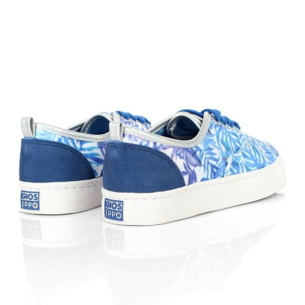 BIG GIRLS BLUE CASUAL SNEAKERS - ruffntumblekids