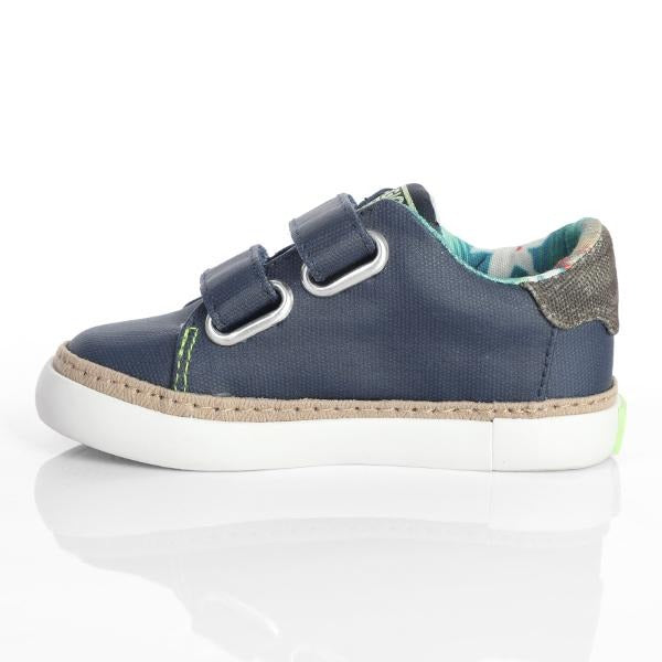 BLUE CASUAL VELCRO SNEAKERS