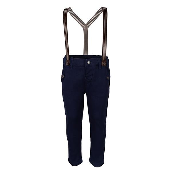 BOYS BLUE CHINOS TROUSER