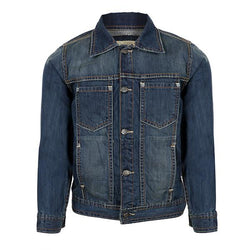 blue long sleeve denim jacket-ruffntumble