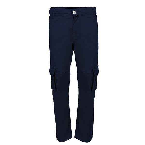 blue fit cargo pants-ruffntumble