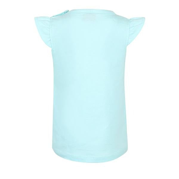 BABY GIRLS BLUE SHORT SLEEVE TOP
