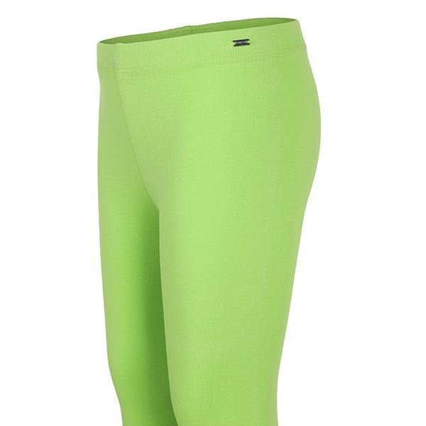 BRIGHT GREEN BASIC LEGGINGS