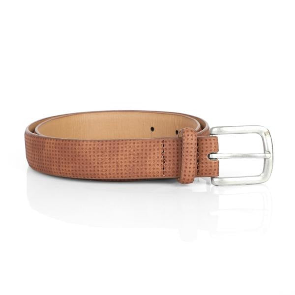 BOYS BROWN LEATHER BELT - ruffntumblekids