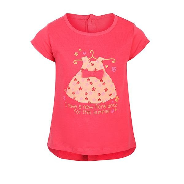 GIRLS CORAL GRAPHIC T-SHIRT - ruffntumblekids