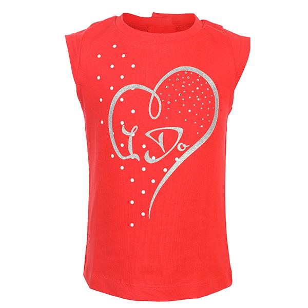 GIRLS CORAL BABY TOP