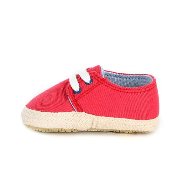 GIRLS CRANBERRY CANVAS SHOES - ruffntumblekids
