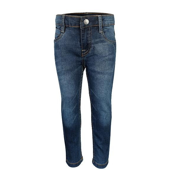 regular fit blue denim trouser-ruffntumble