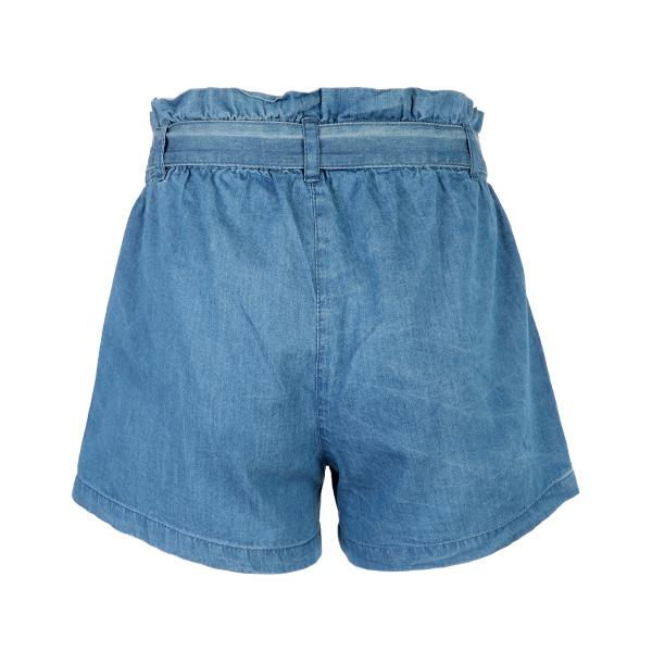GIRLS DENIM BLUE SHORTS